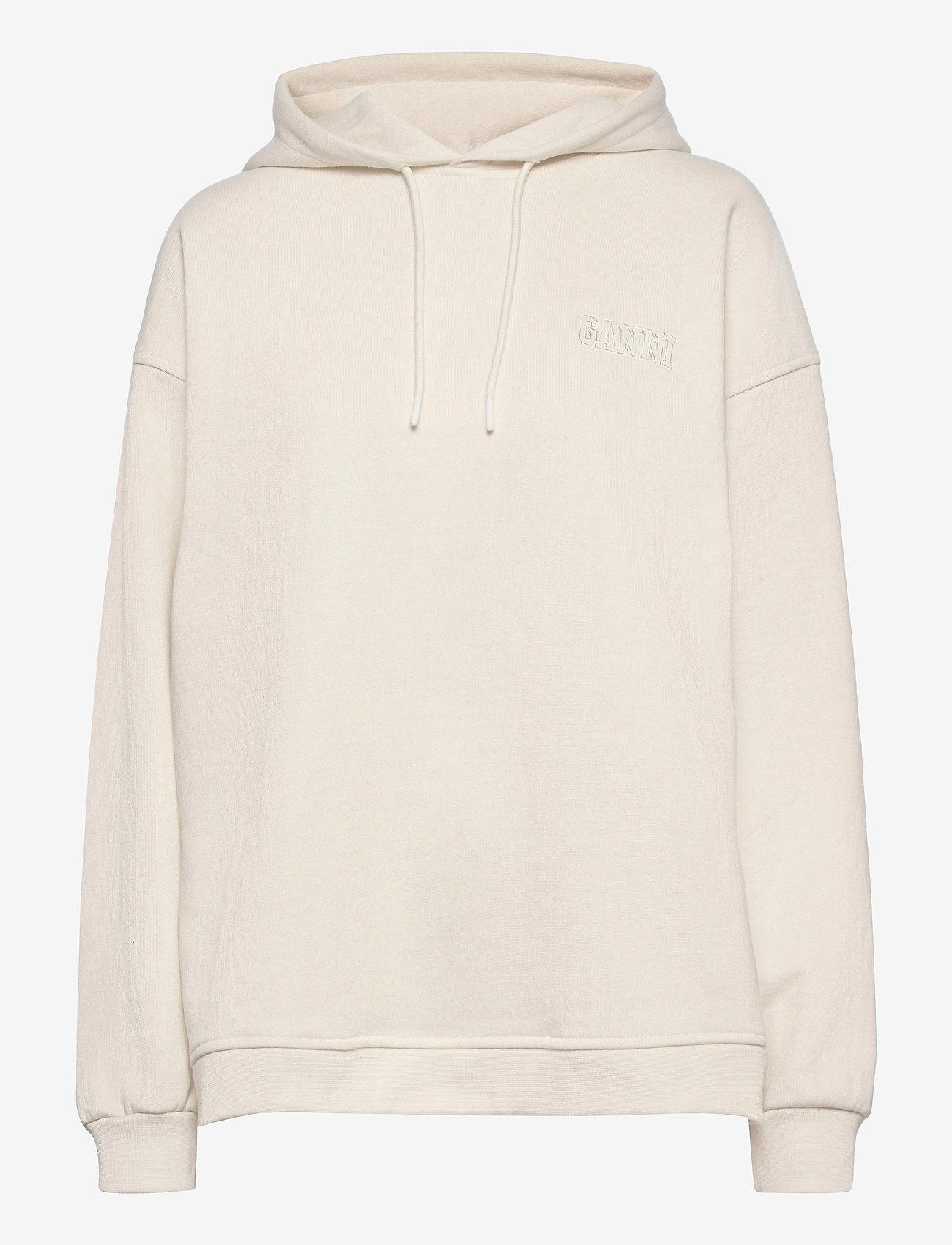 Ganni - Software Isoli - sweatshirts & hættetrøjer - egret - 0