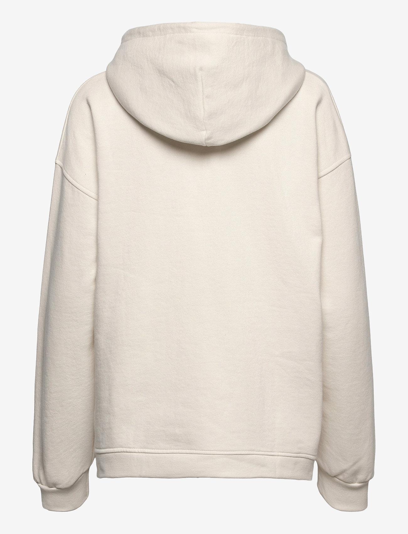 Ganni - Software Isoli - sweatshirts & hættetrøjer - egret - 1