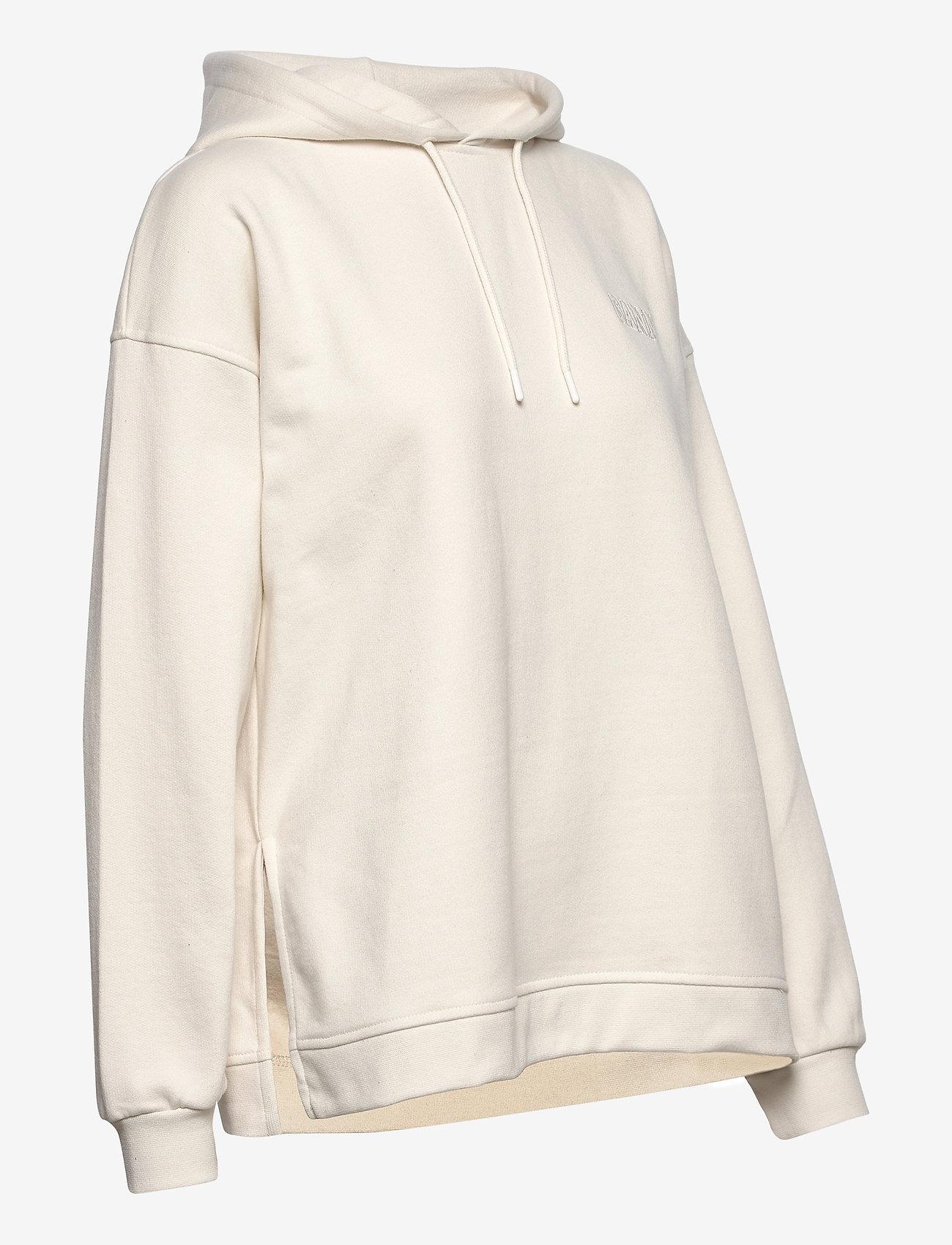 Ganni - Software Isoli - sweatshirts & hættetrøjer - egret - 3