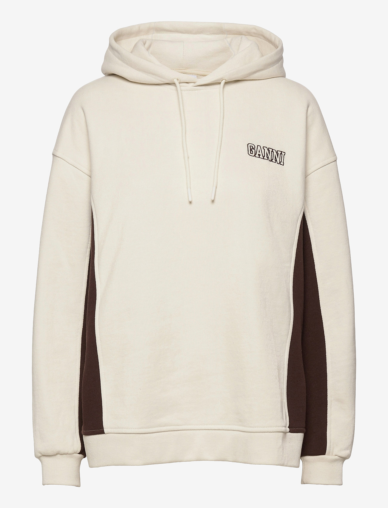 Ganni - Software Block Isoli - sweatshirts & hættetrøjer - egret - 0