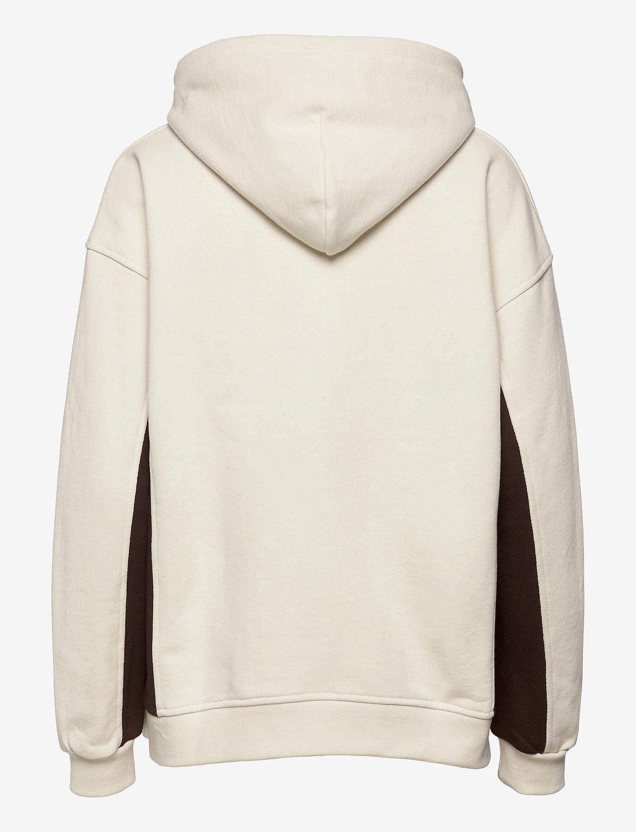 Ganni - Software Block Isoli - sweatshirts & hættetrøjer - egret - 1