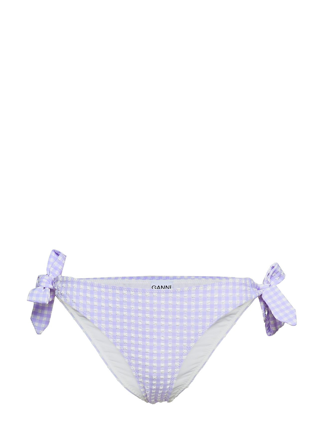 Ganni Seersucker Swimwear