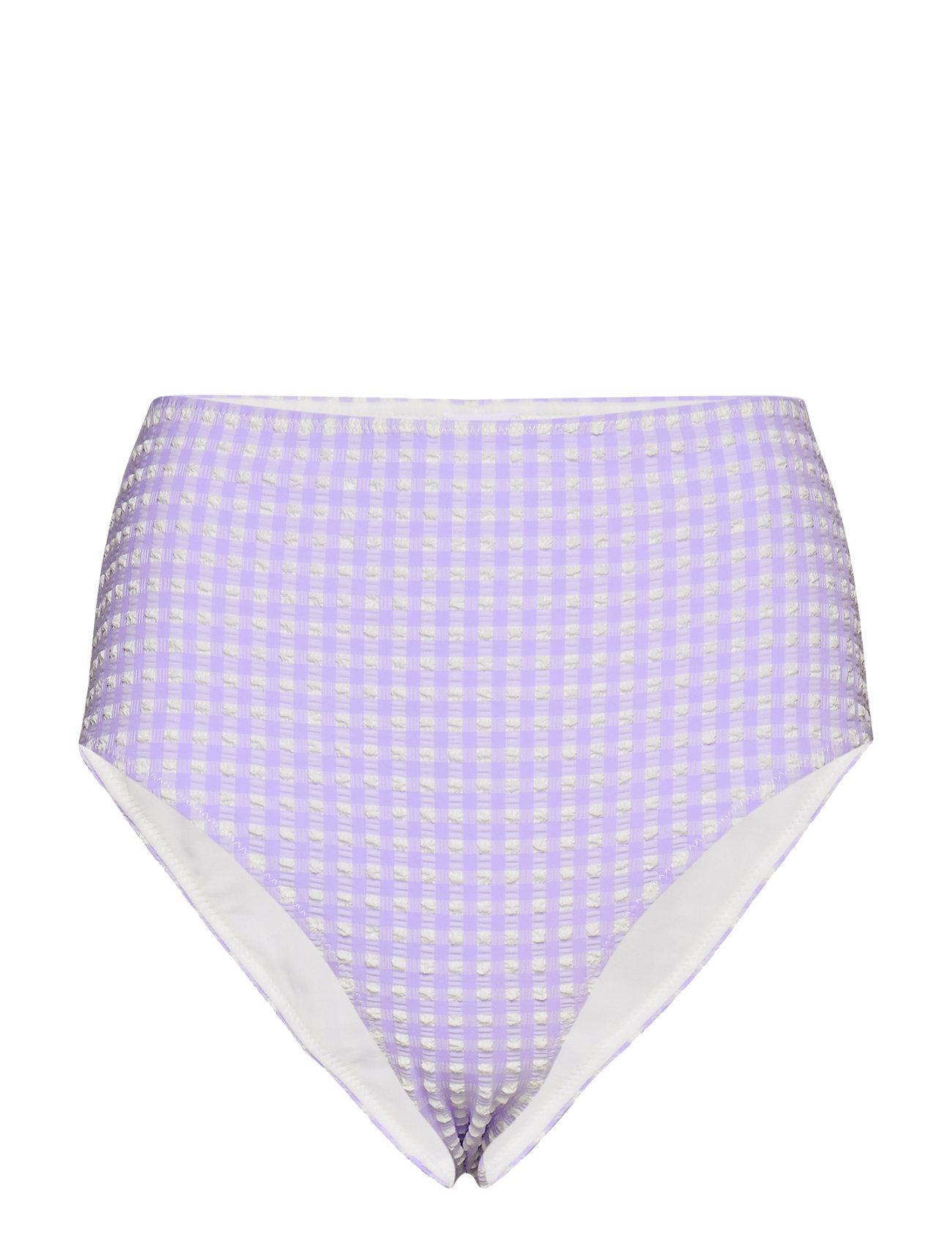 Ganni Seersucker Swimwear - VAPOR BLUE