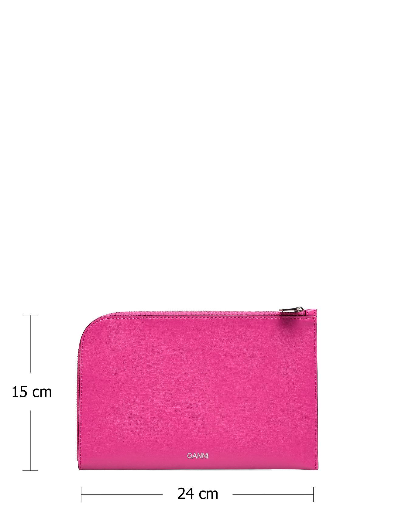 Ganni - Pouch - punge - shocking pink - 5