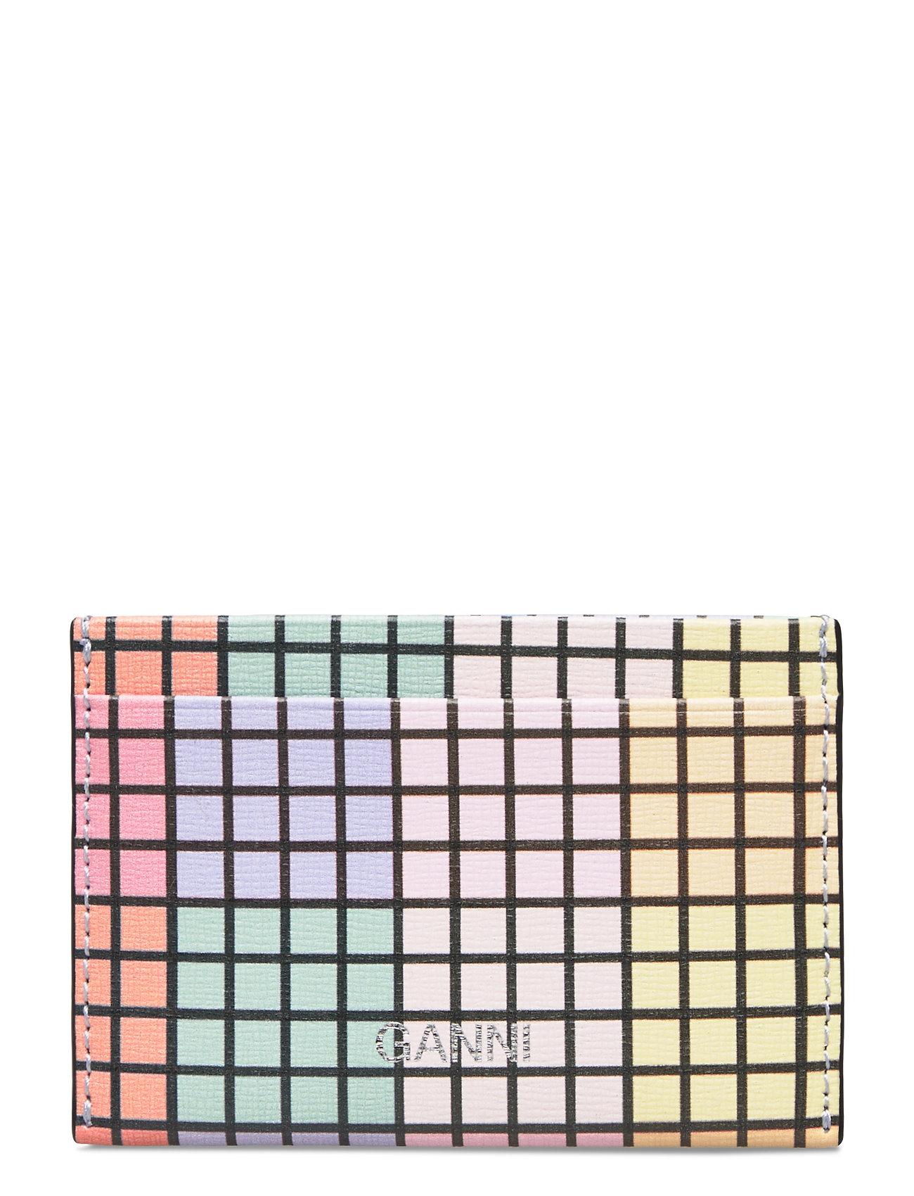 Image of Card Holder Leather Bags Card Holders & Wallets Card Holder Multi/mønstret Ganni (3423818735)