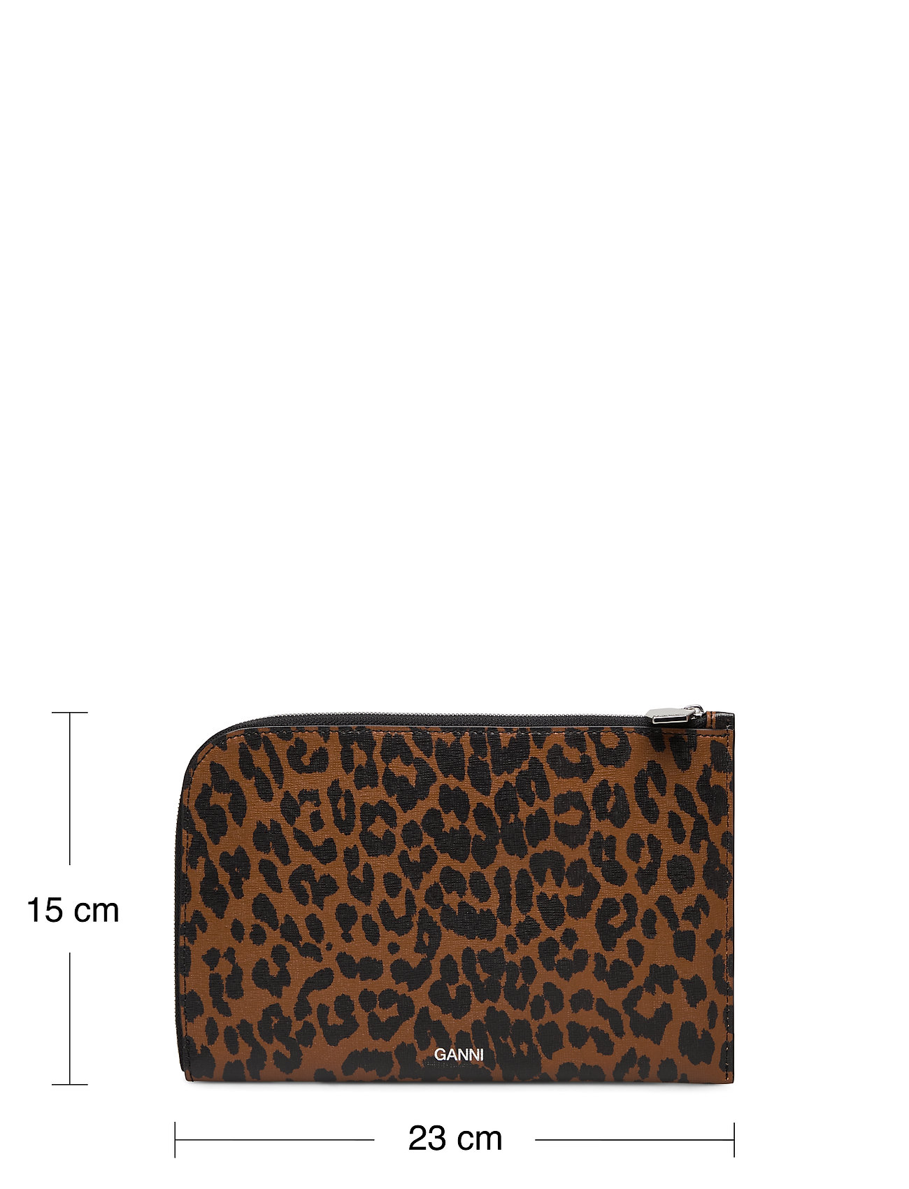 Ganni - Pouch Leather - bags - toffee - 4
