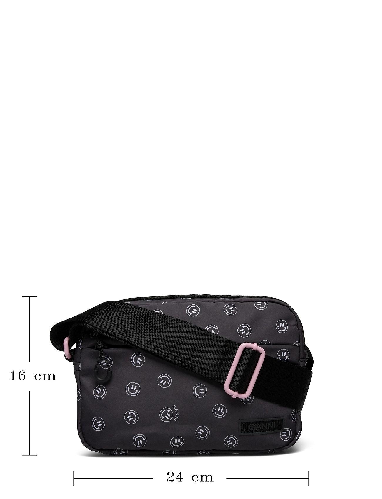 Ganni - Seasonal Recycled Tech Fabric - crossbody bags - phantom - 5