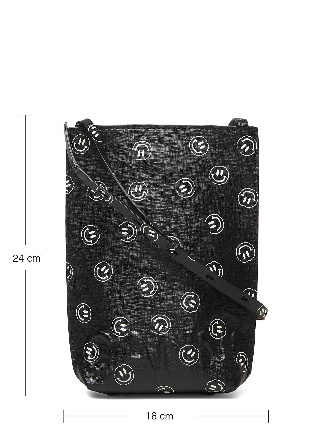 Ganni - Recycled Leather - skuldertasker - phantom - 5