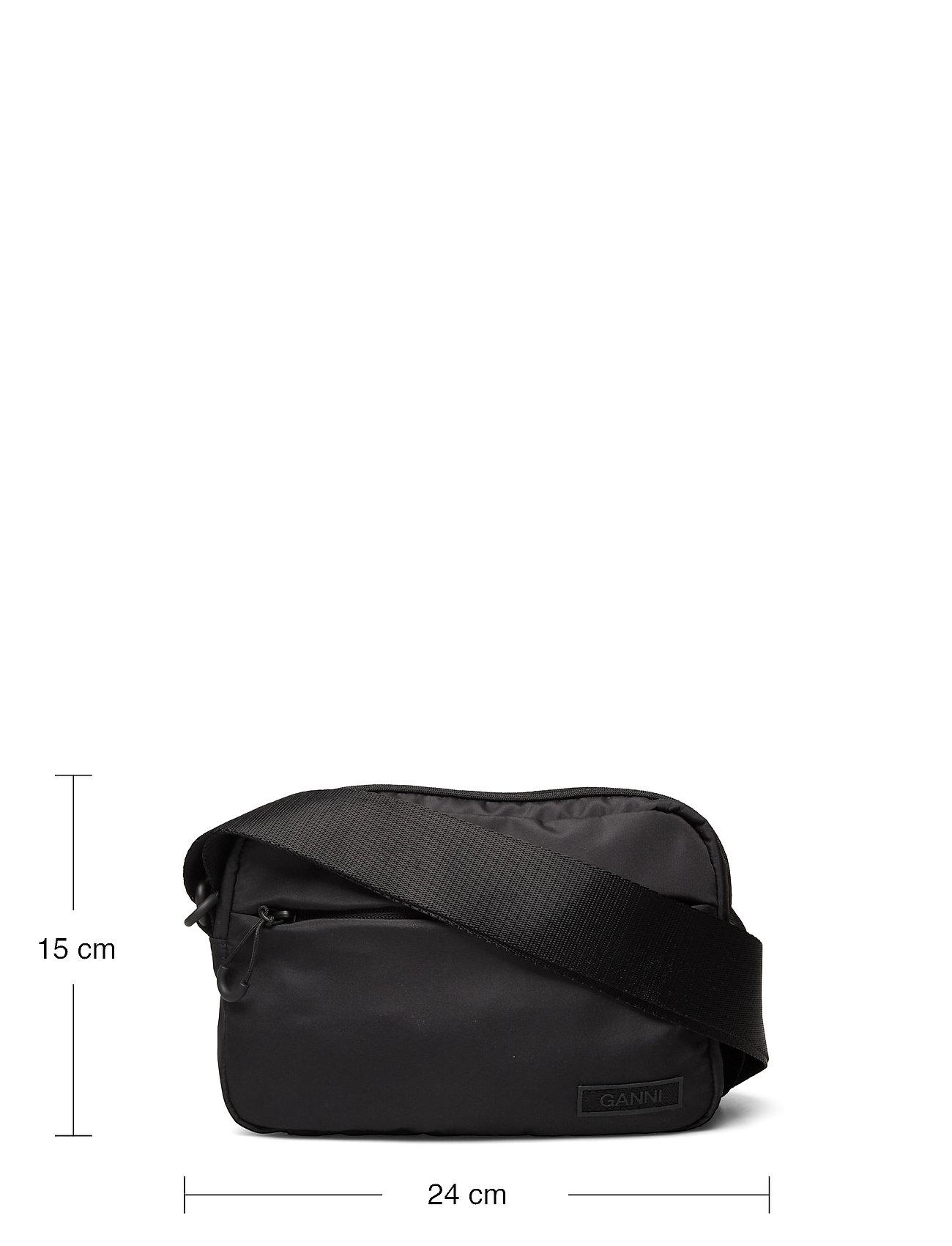 Ganni - Recycled Tech Fabric Bags - tasker - black - 5