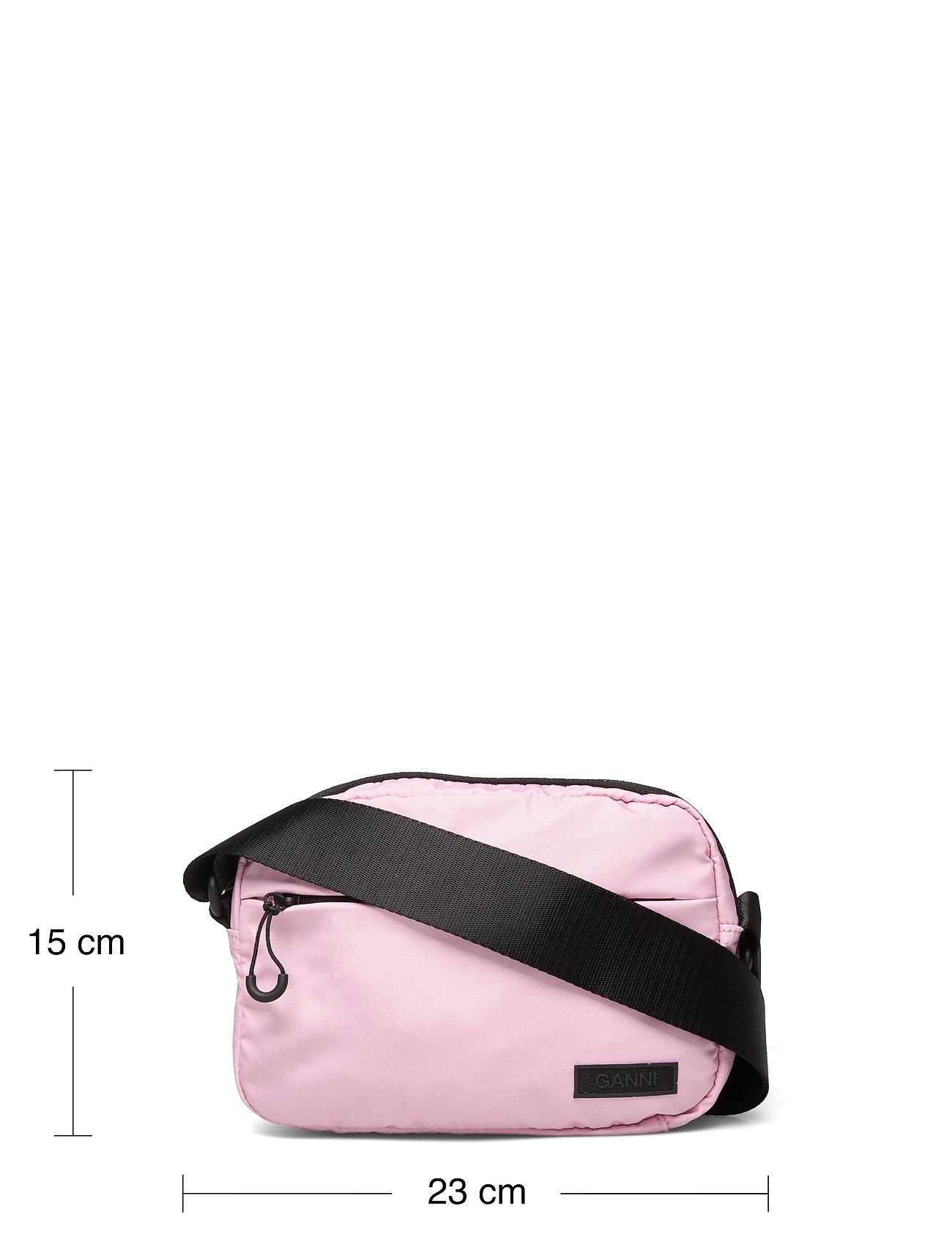 Ganni - Seasonal Recycled Tech Fabric - crossbody bags - pink nectar - 5
