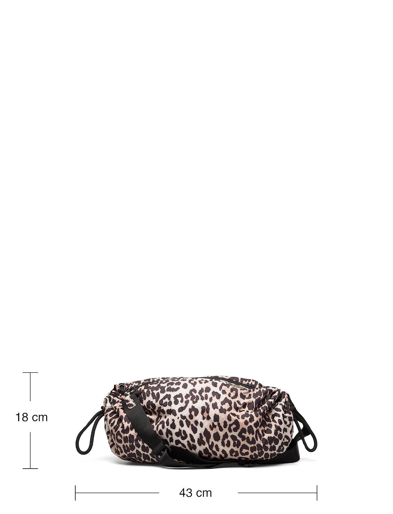 Ganni - Seasonal Recycled Tech Fabric - crossbody bags - leopard - 5
