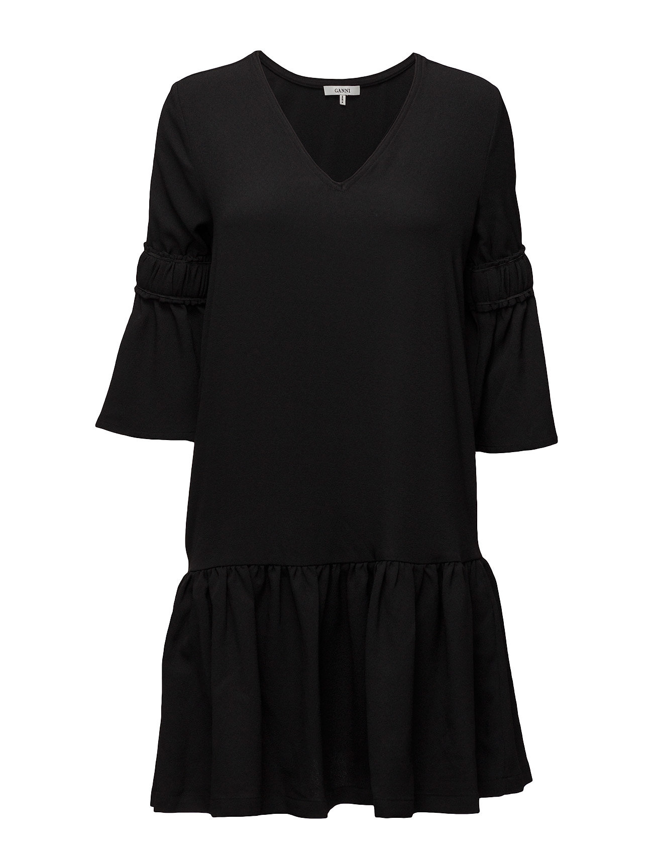 768bbca39a800 Ganni Clark Dress (Black), (60 €)   Large selection of outlet-styles ...