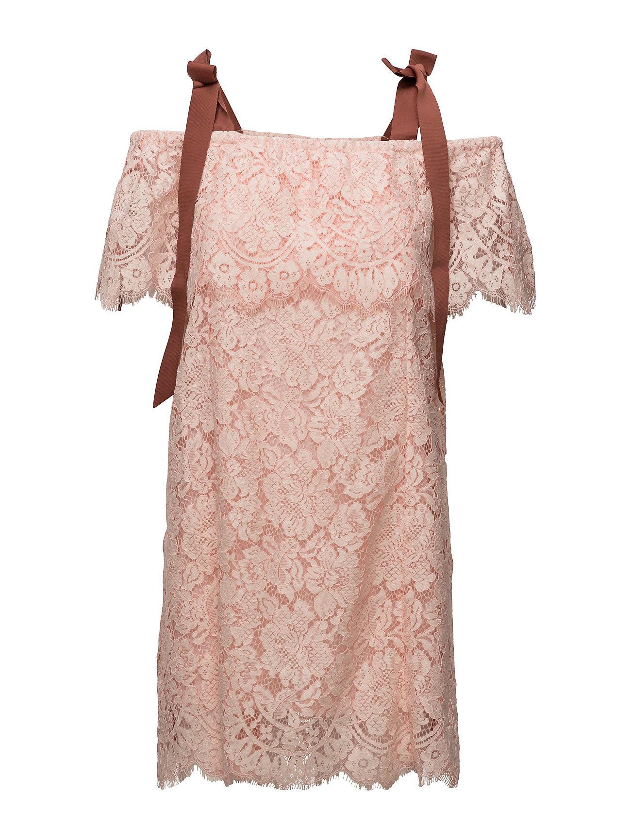 718fe17e Duval Lace Dress (Cloud Pink) (593.45 zł) - Ganni - Sukienki | Boozt.com