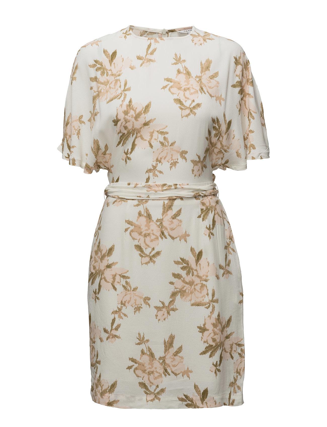 6a724f5f Ganni St. Pierre Crepe Dress (Vanilla Ice), (104 €)   Large ...
