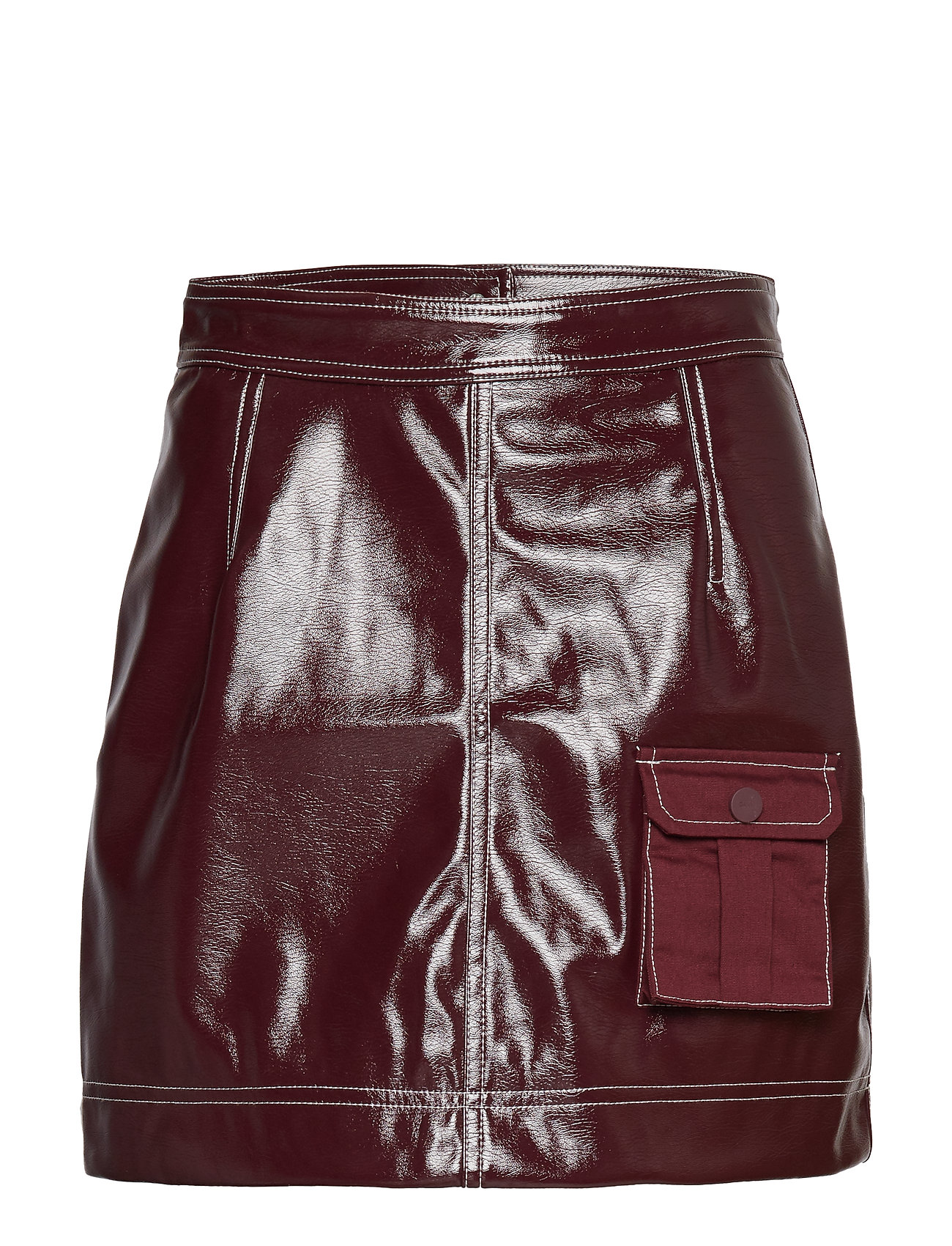 Ganni Patent Skirt - PORT ROYALE