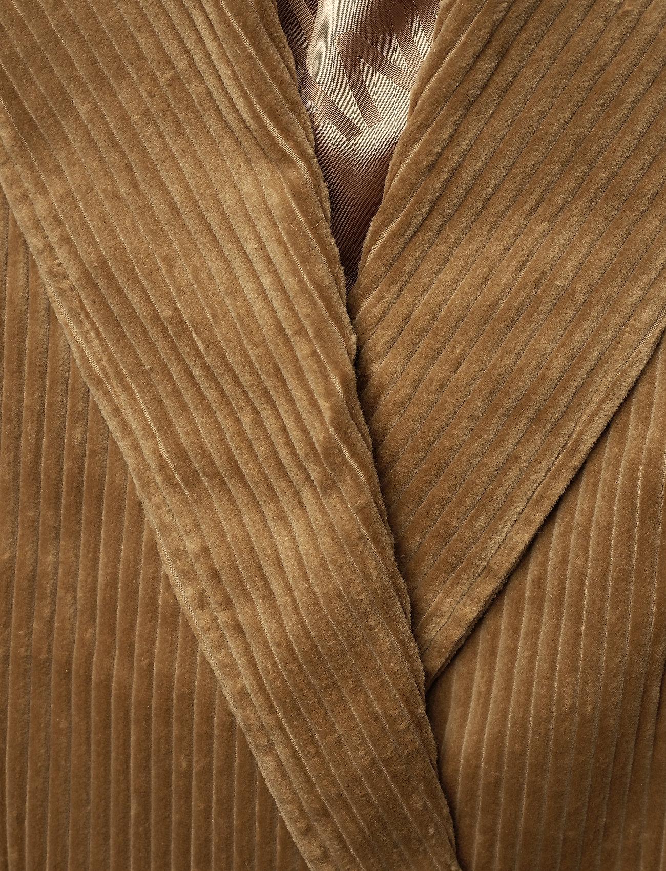 Ganni Corduroy Blazer - Blezery TIGER'S EYE - Kobiety Odzież.