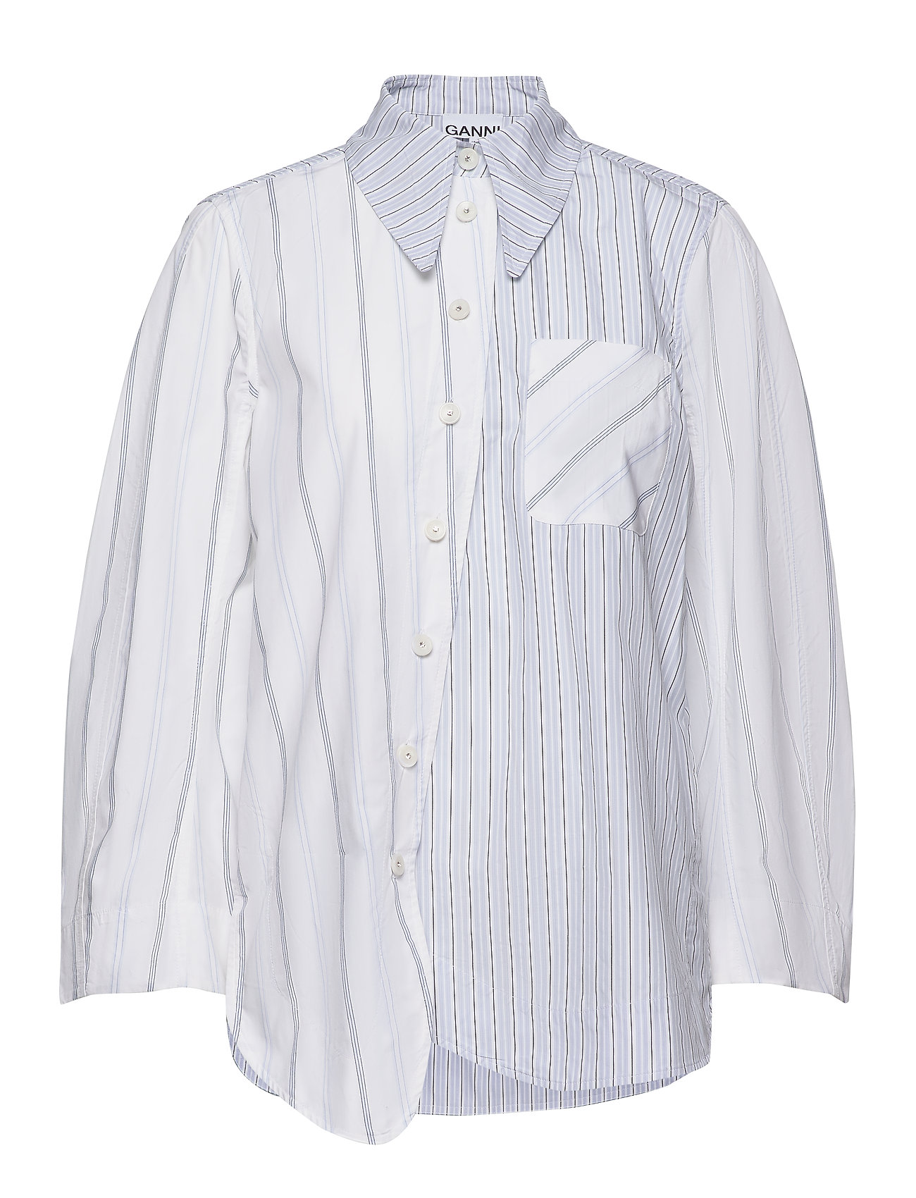 Ganni Shirting Cotton - BLOCK COLOUR