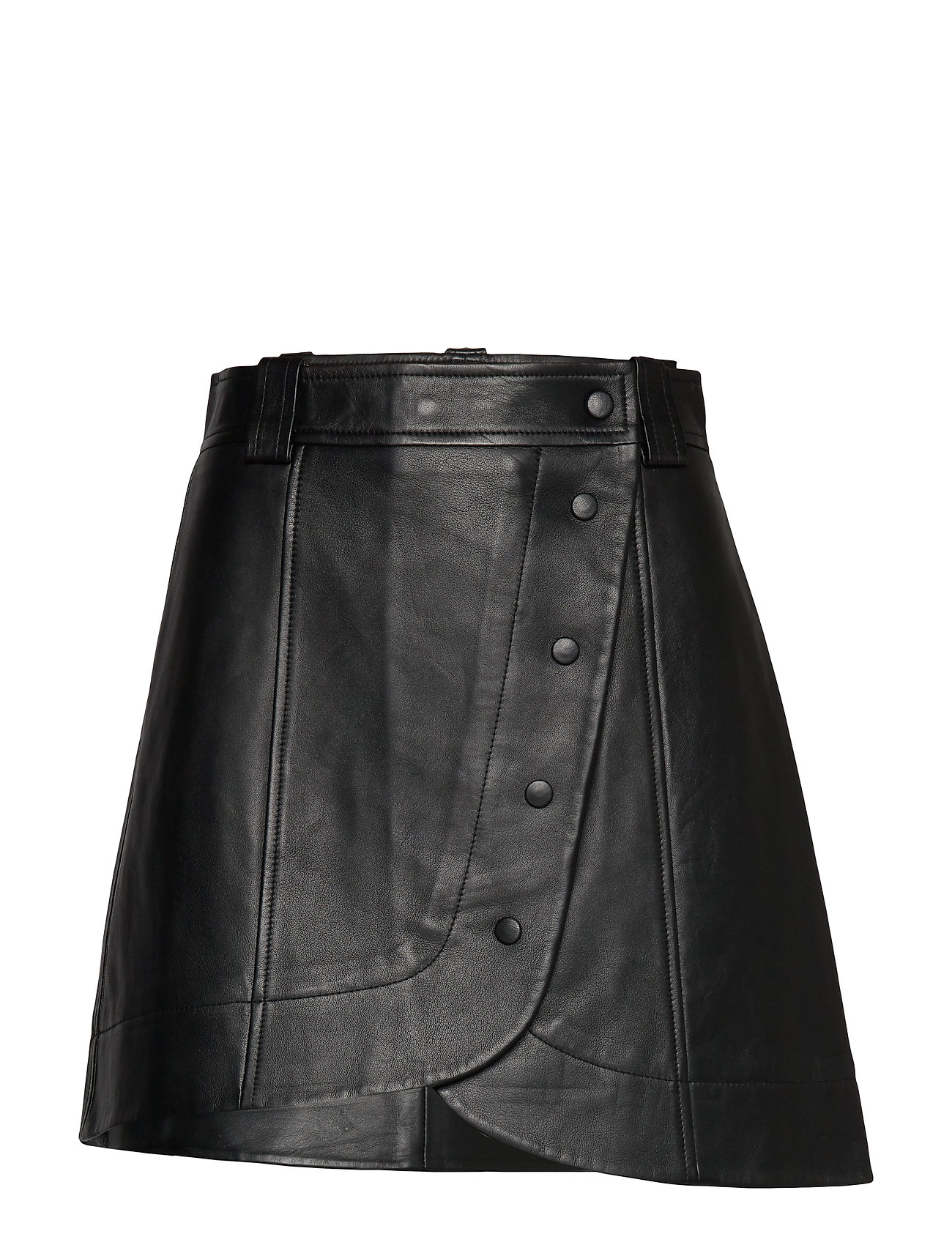 Ganni Lamb Leather - BLACK
