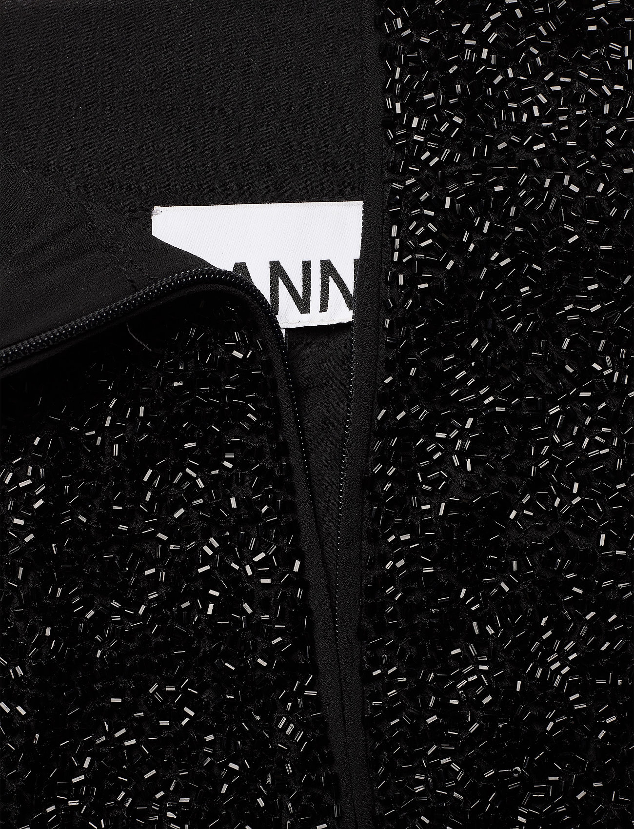 Ganni - Beads - midi skirts - black - 3