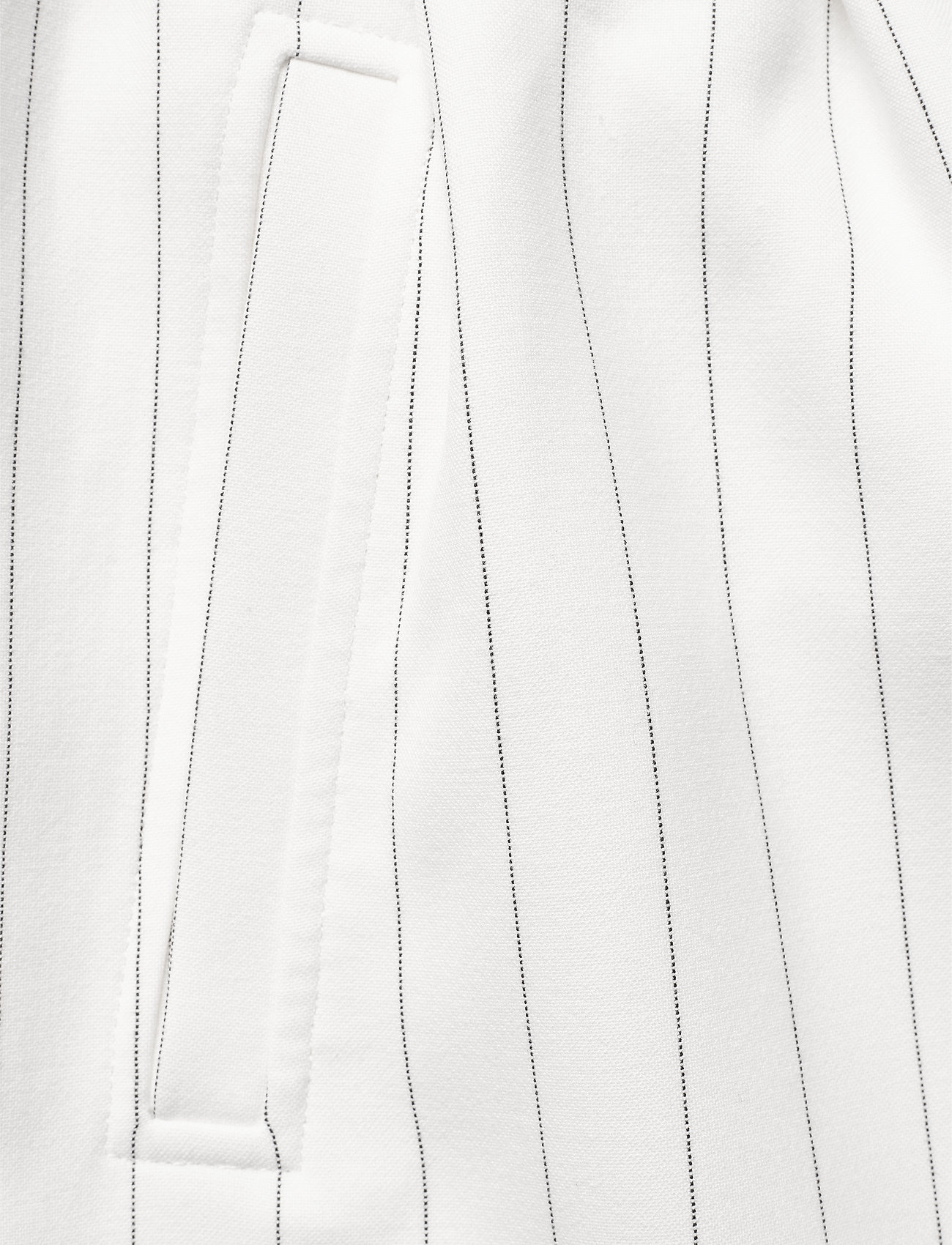 Ganni - Suiting - paper bag shorts - egret - 2
