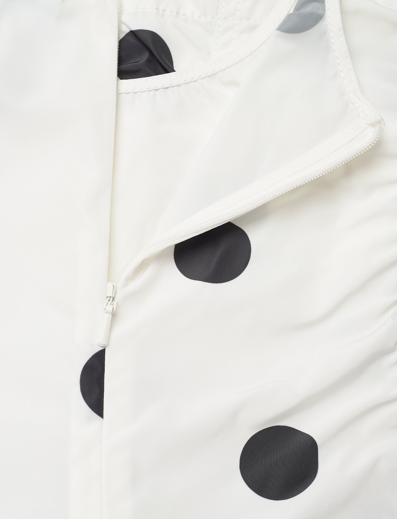Ganni - Recycled Polyester - short-sleeved blouses - egret - 3