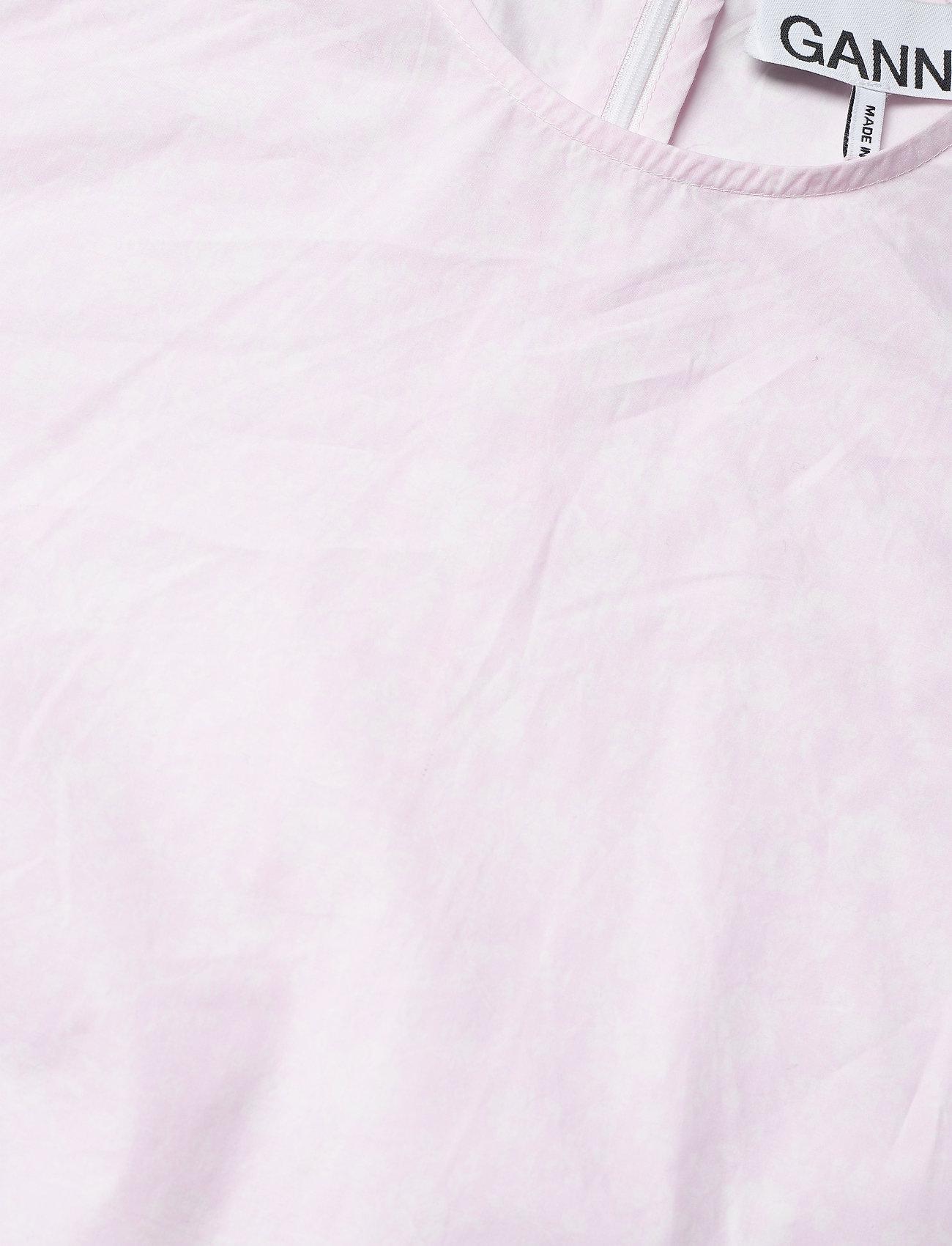 Printed Cotton Poplin  - Ganni
