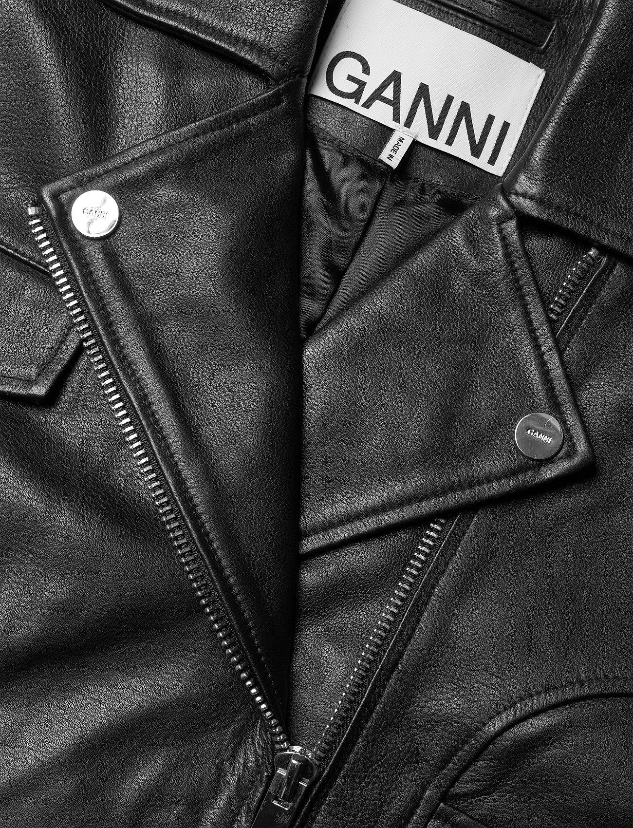 Light Grain Leather  - Ganni