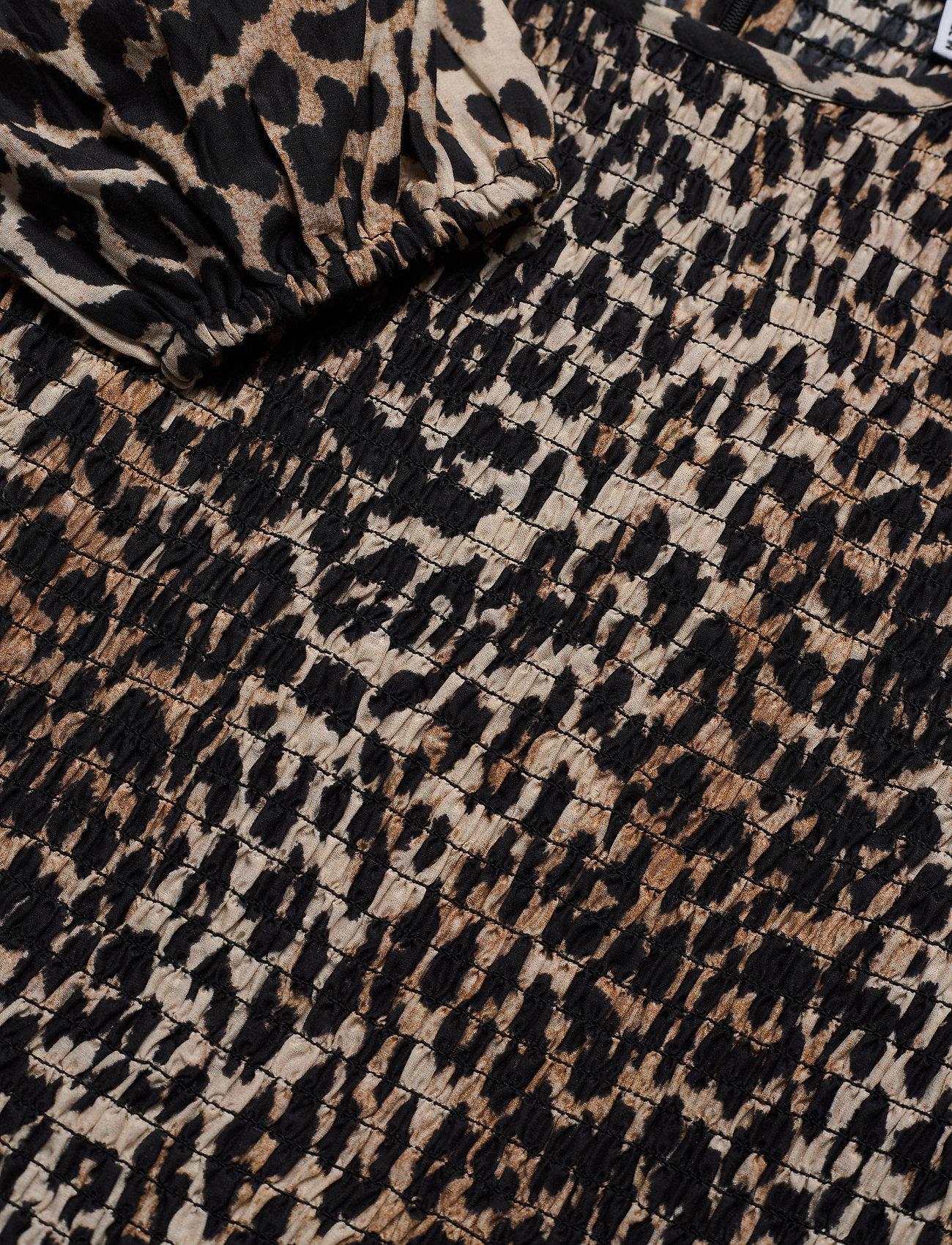 Ganni - Cotton Silk - leopard - 2