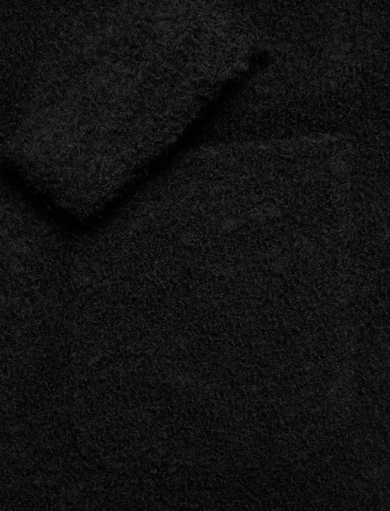 Ganni - Boucle Wool - uldjakker - black - 3