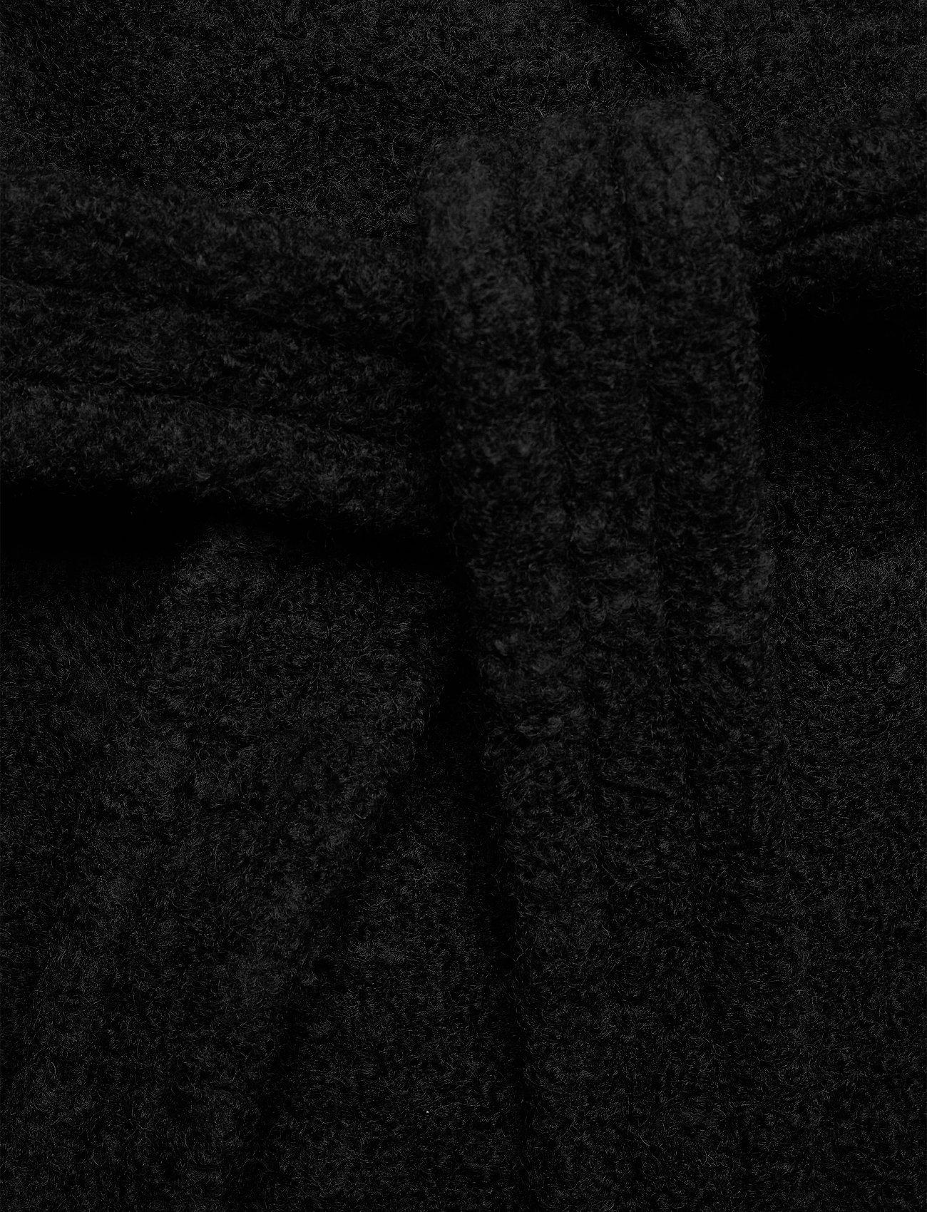 Ganni - Boucle Wool - uldjakker - black - 5
