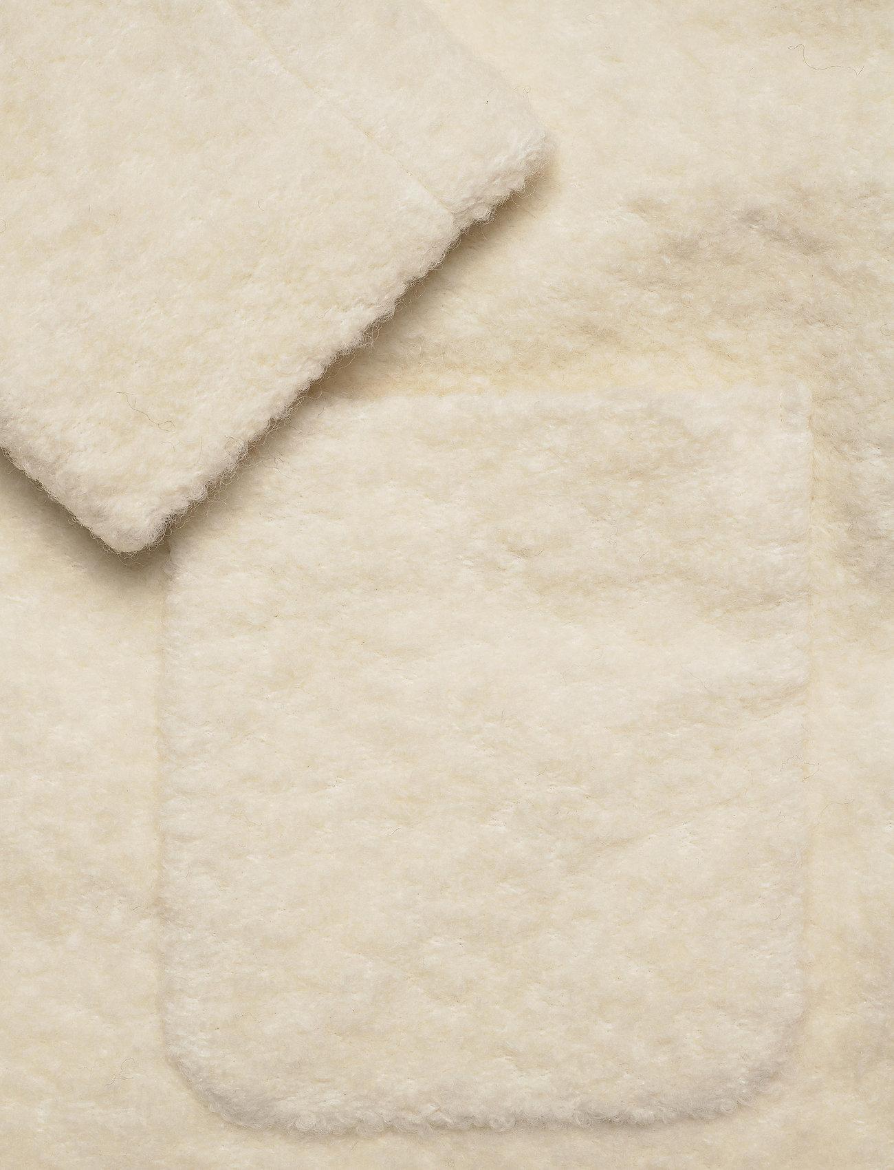 Ganni - Boucle Wool - uldjakker - egret - 3