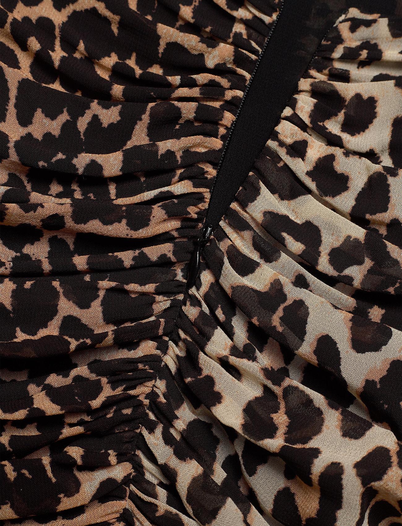 Ganni - Printed Georgette - korte nederdele - leopard - 3