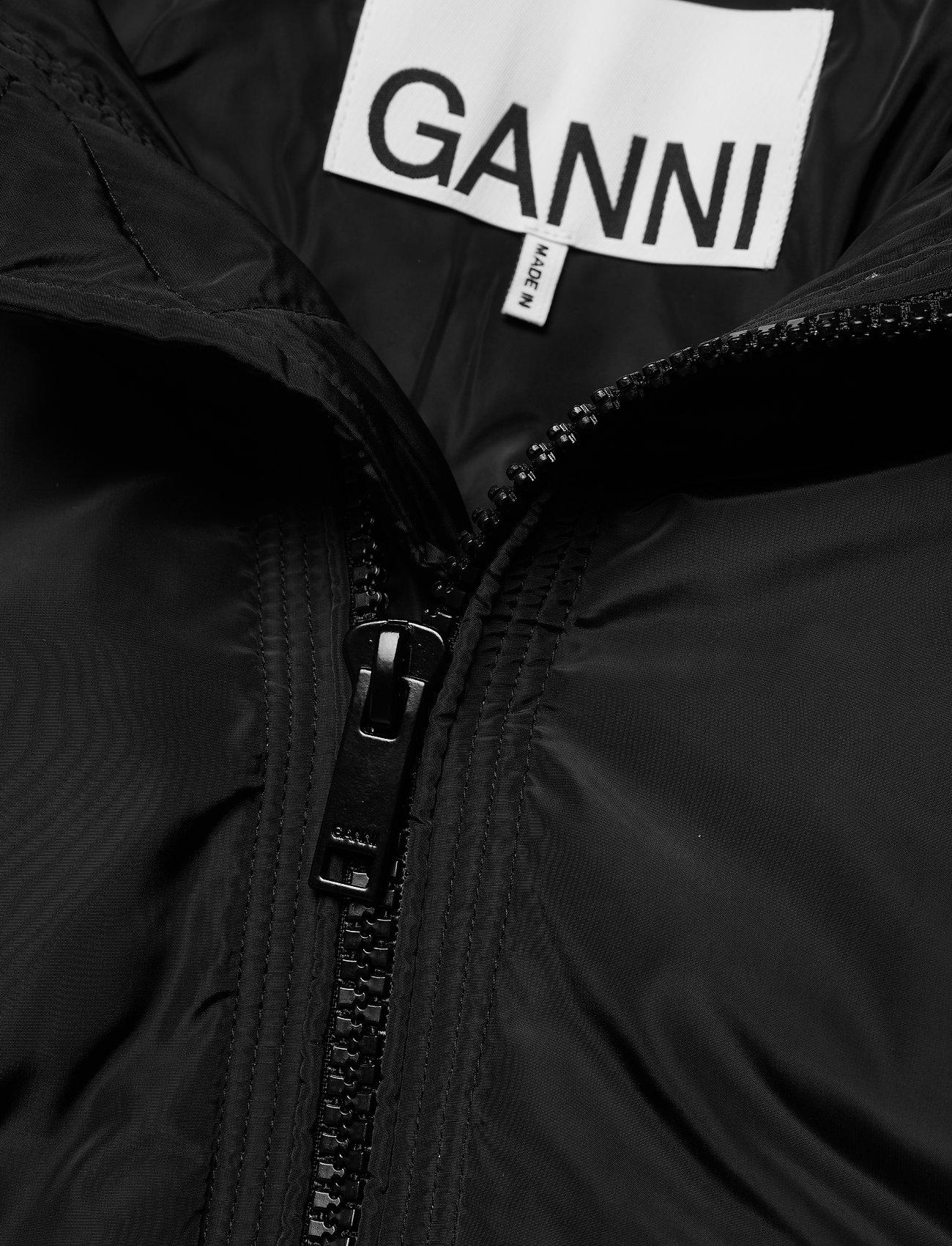 Ganni - Tech Down - forede jakker - black - 2