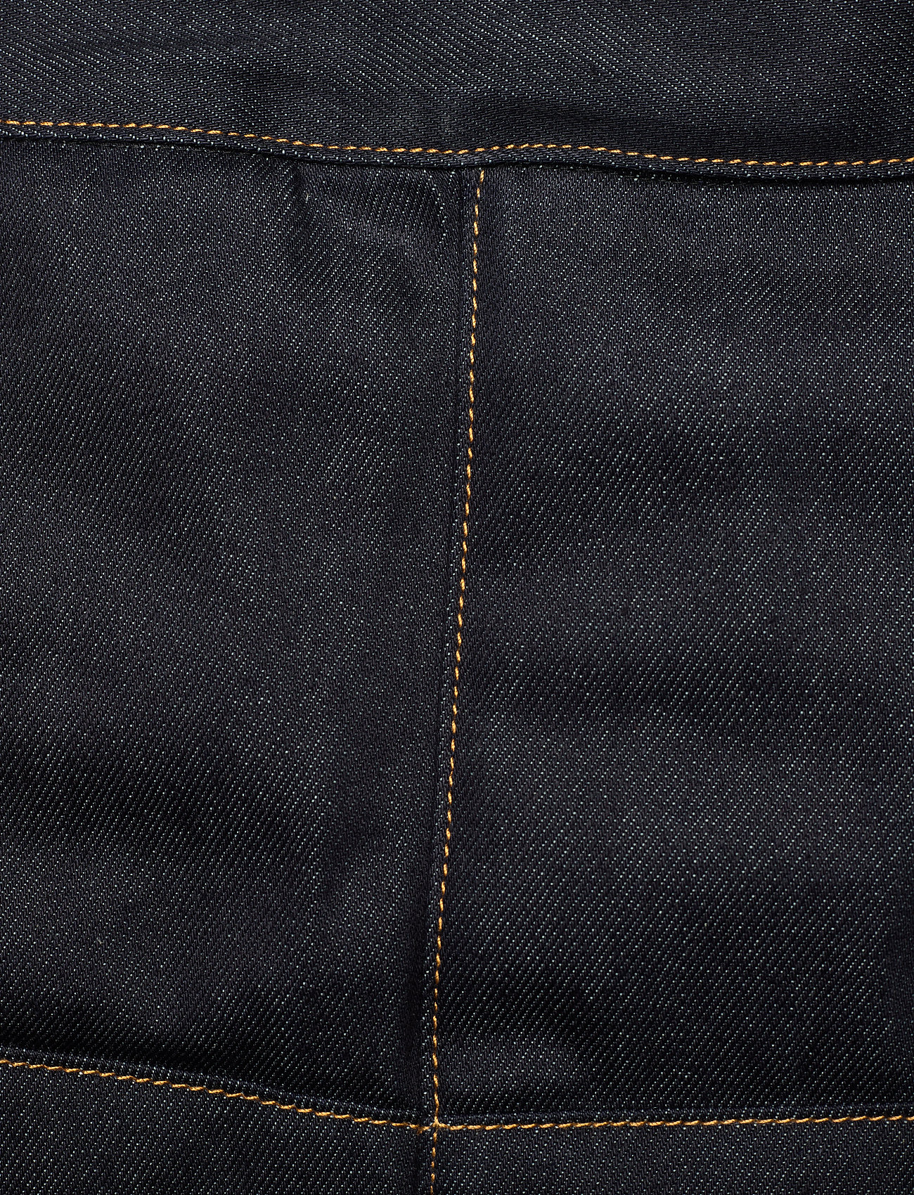 Ganni - Raw Padded Denim - jeansröcke - indigo - 2