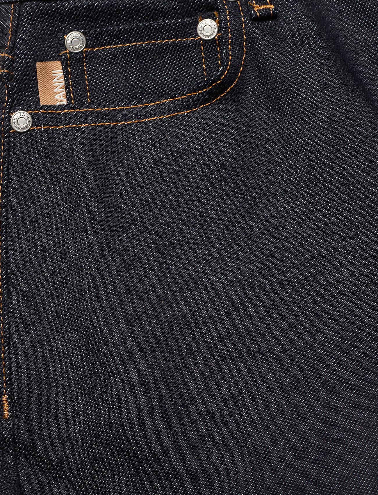 Ganni - Raw Denim - slim jeans - indigo - 2