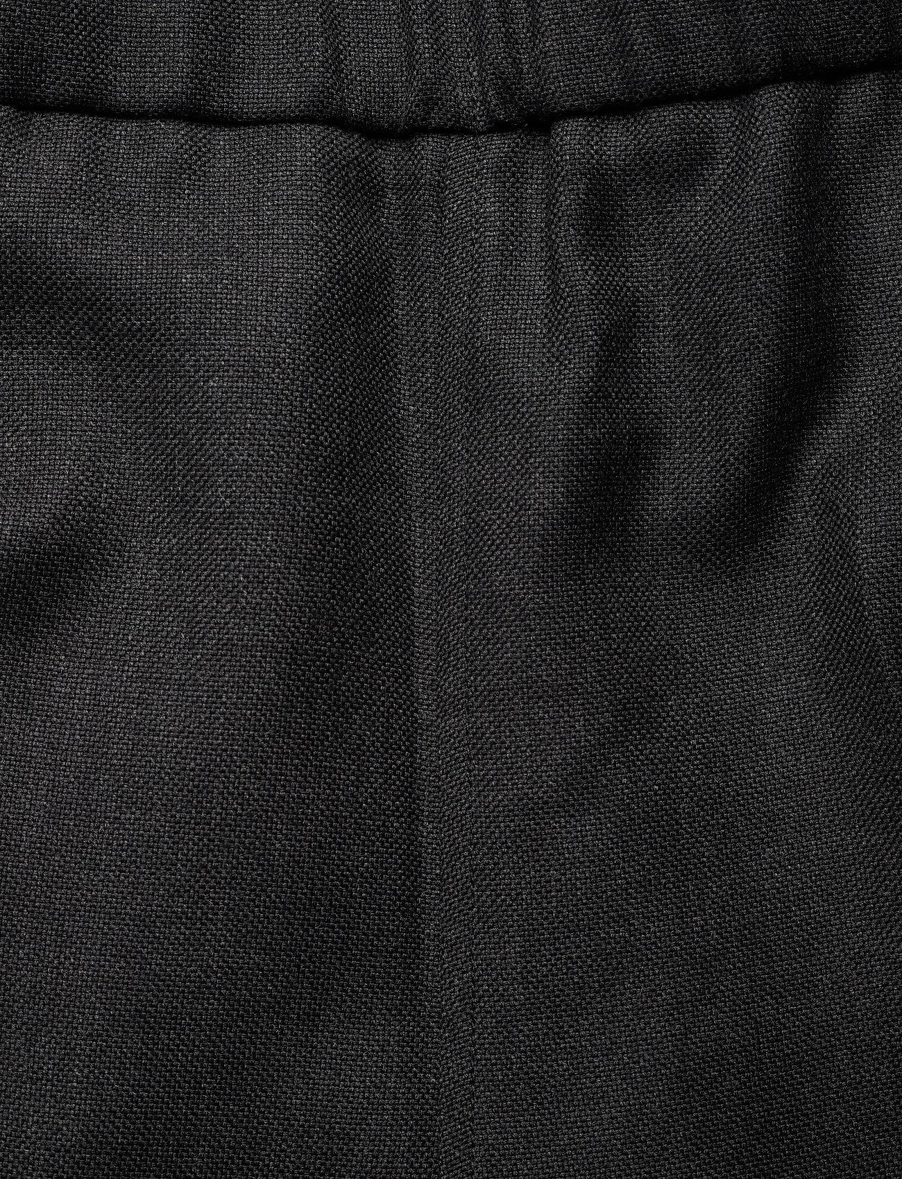 Ganni - Wool Suiting - straight leg trousers - phantom - 3