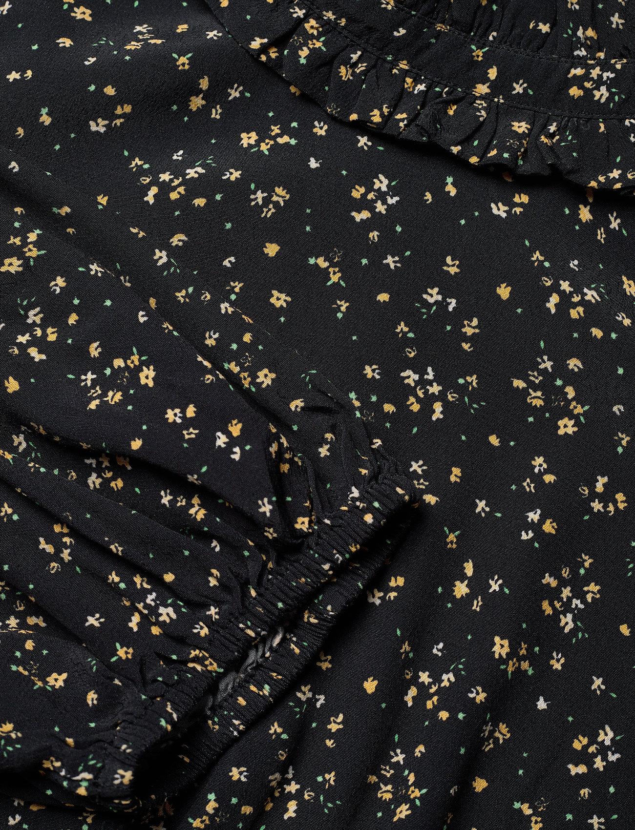 Ganni - Blouse - long sleeved blouses - black - 2
