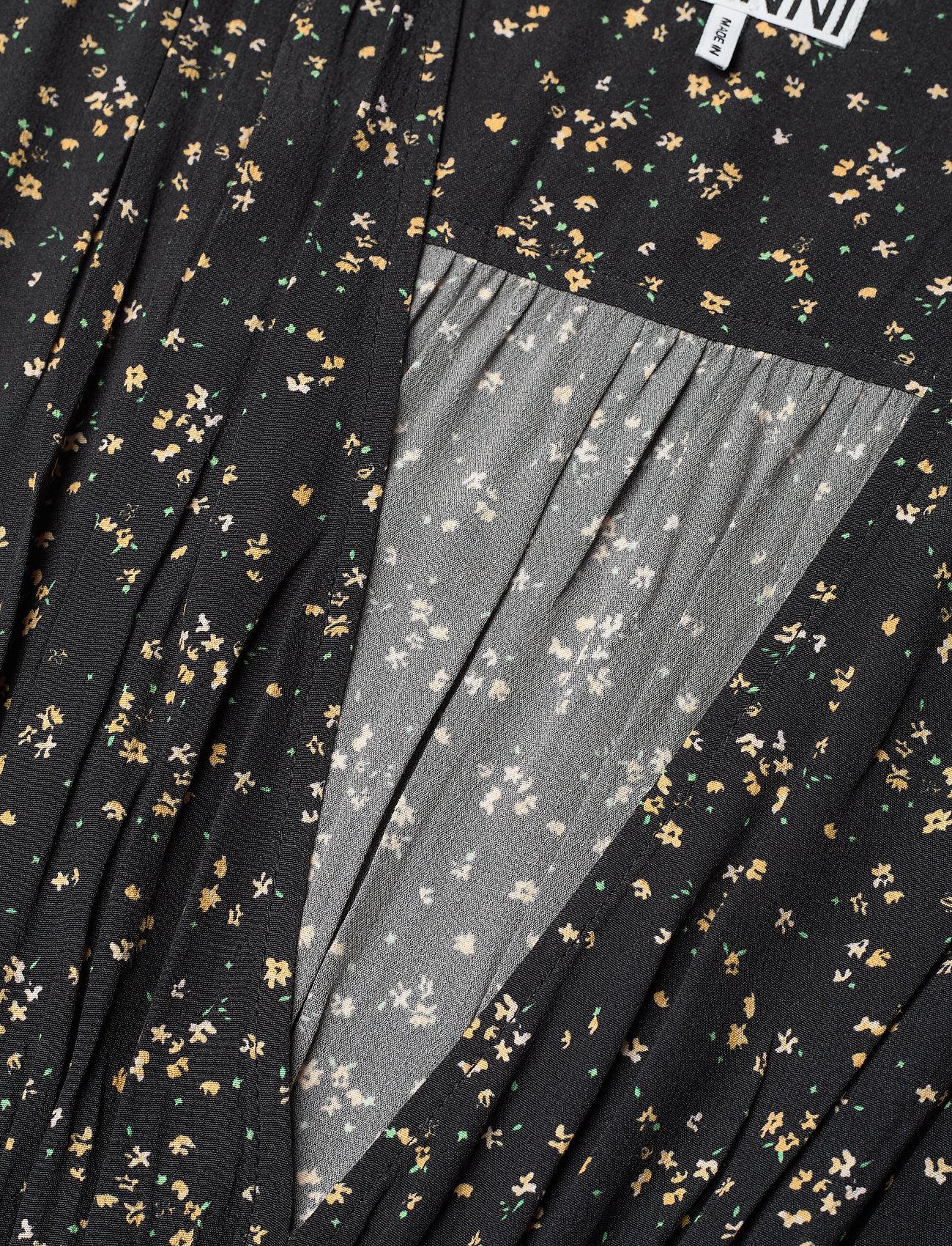 Ganni - Sleeveless Dress - sommerkjoler - black - 2