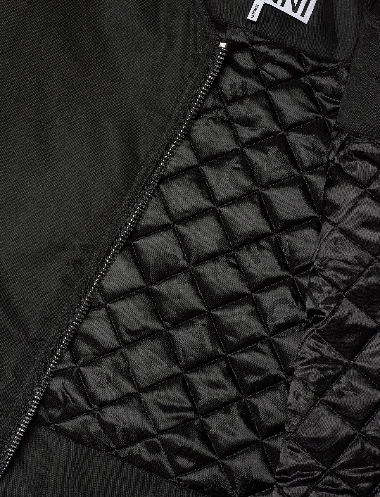 Ganni - Outerwear Nylon - bomber jakker - black - 5