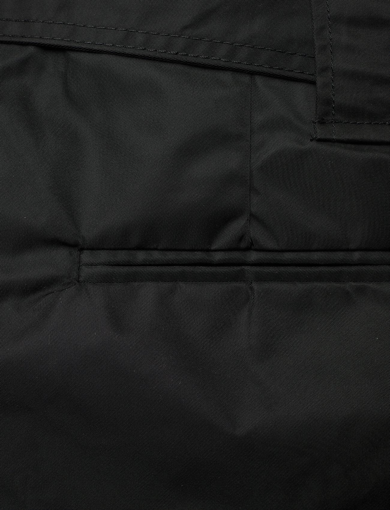 Ganni - Outerwear Nylon - paper bag shorts - black - 4