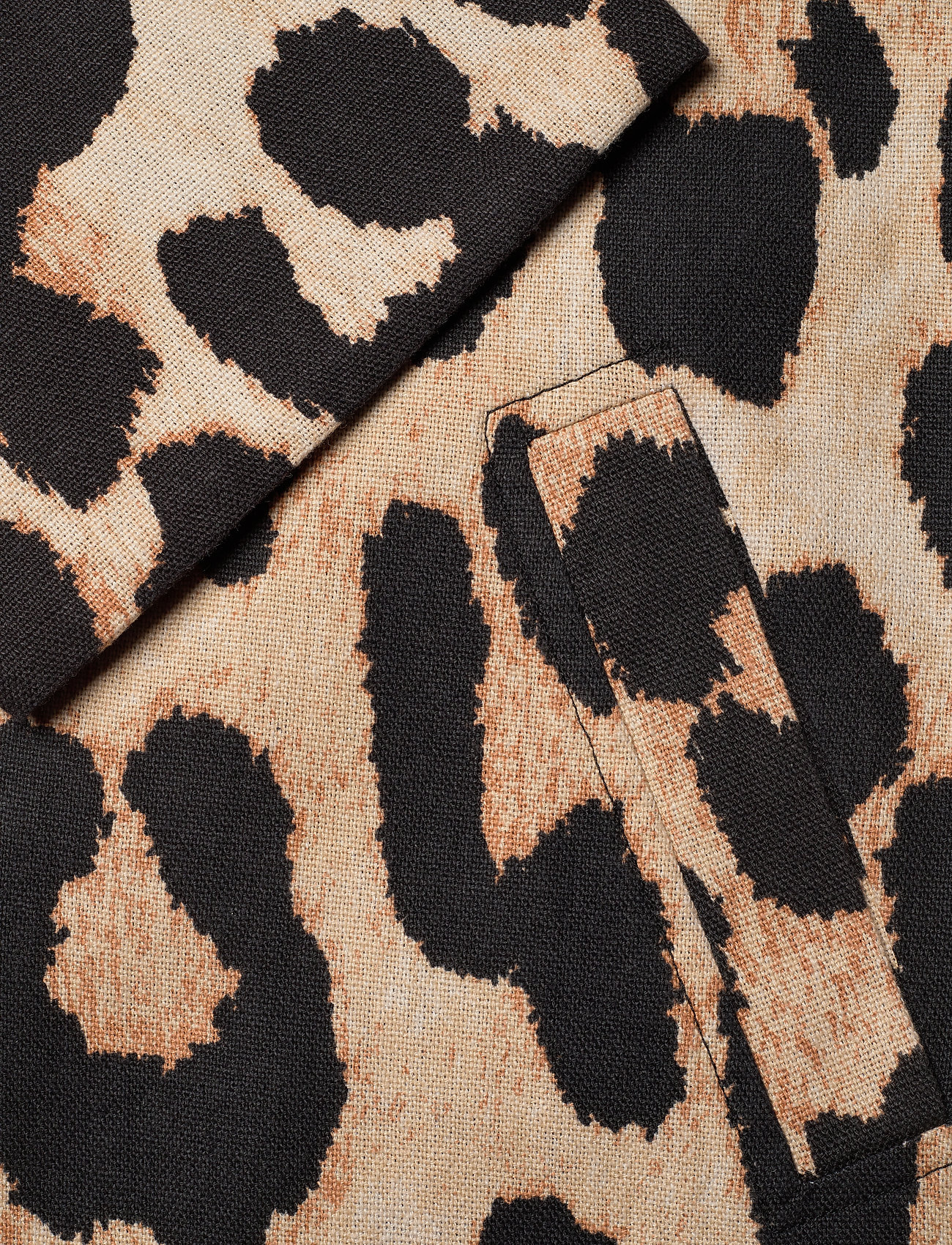 Ganni - Linen Canvas - maxi leopard - 3
