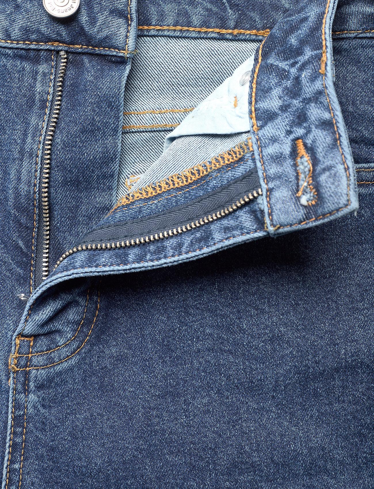 Ganni - Comfort Stretch - straight regular - medium indigo - 3