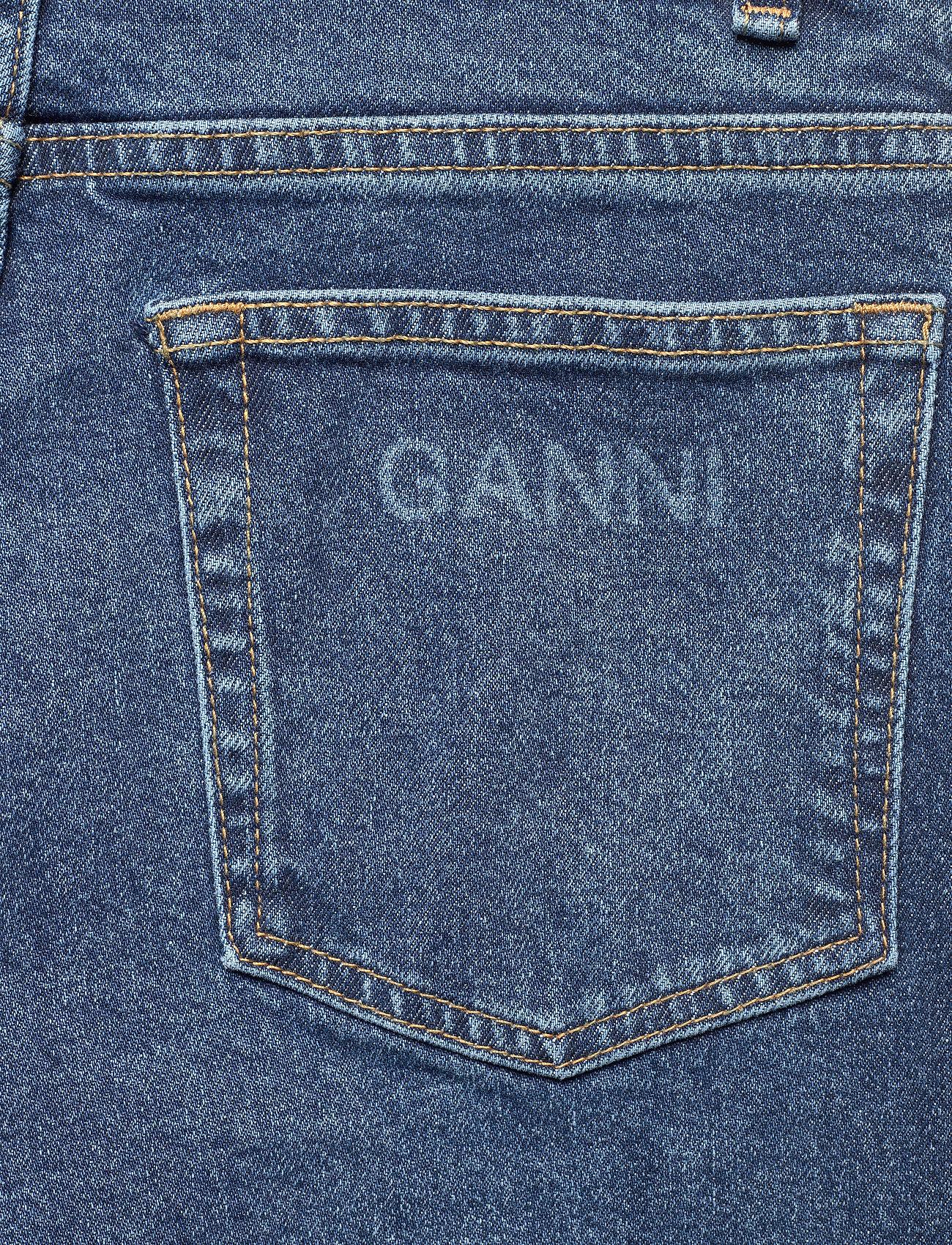 Ganni - Comfort Stretch - straight regular - medium indigo - 4