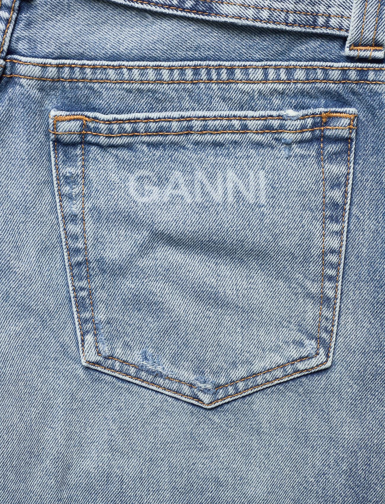 Ganni - Overwashed Denim - denimshorts - denim - 4