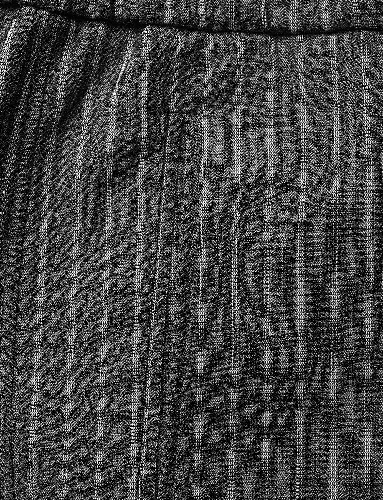Ganni - Stripe Suiting - tøj - phantom - 2