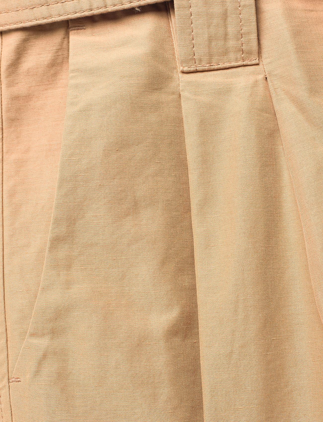 Ganni - Cotton Canvas - casual bukser - tiger's eye - 2