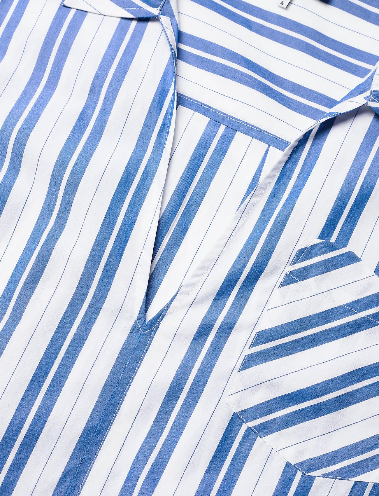 Ganni - Stripe Cotton - midi dresses - daphne - 2