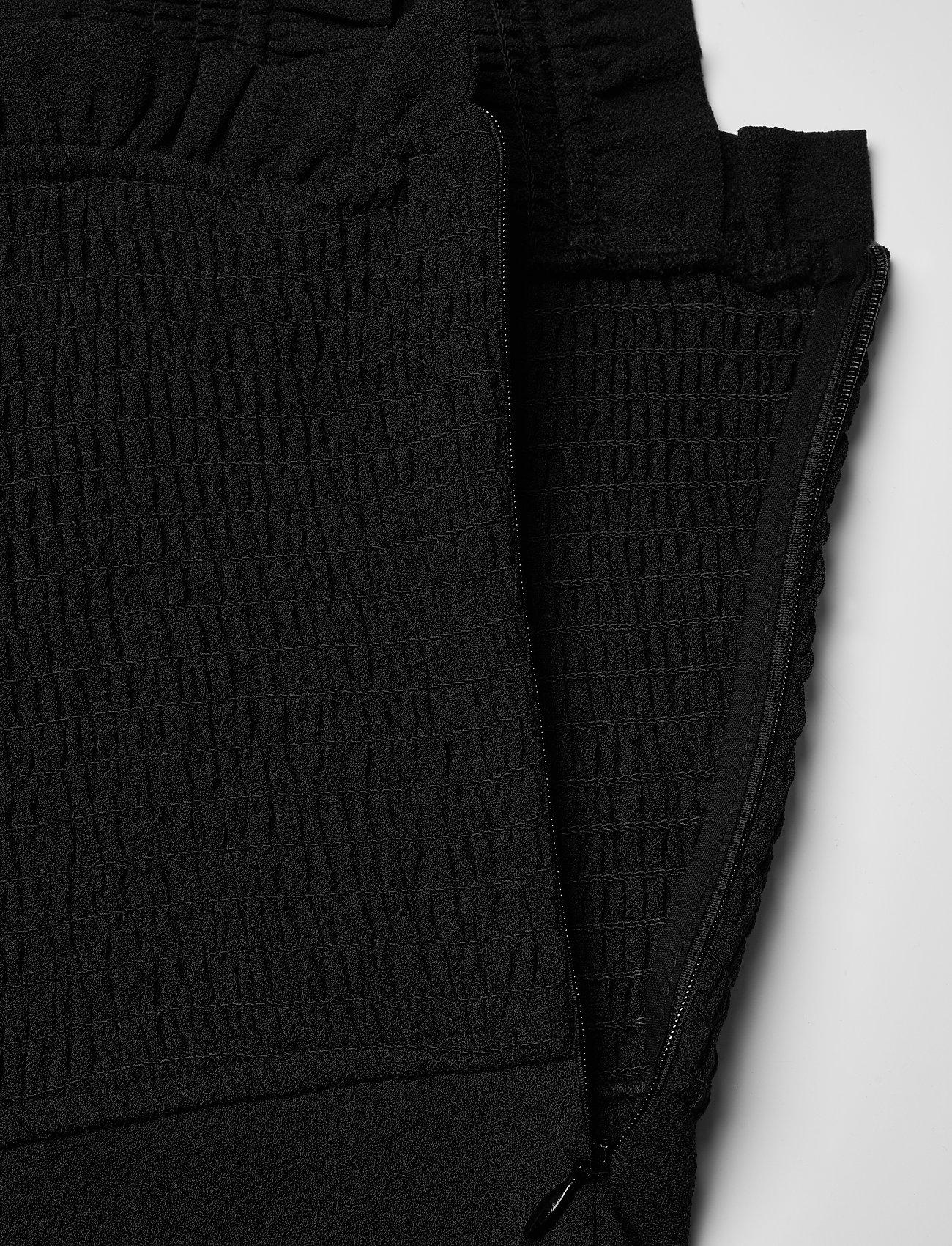 Ganni - Heavy Crepe - evening dresses - black - 3
