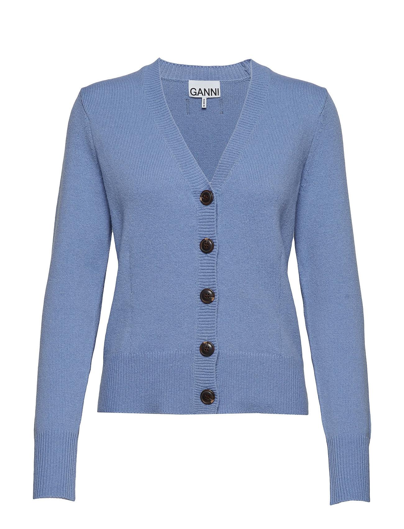 e230511cf6 Wool Knit (Forever Blue) (£144) - Ganni - | Boozt.com