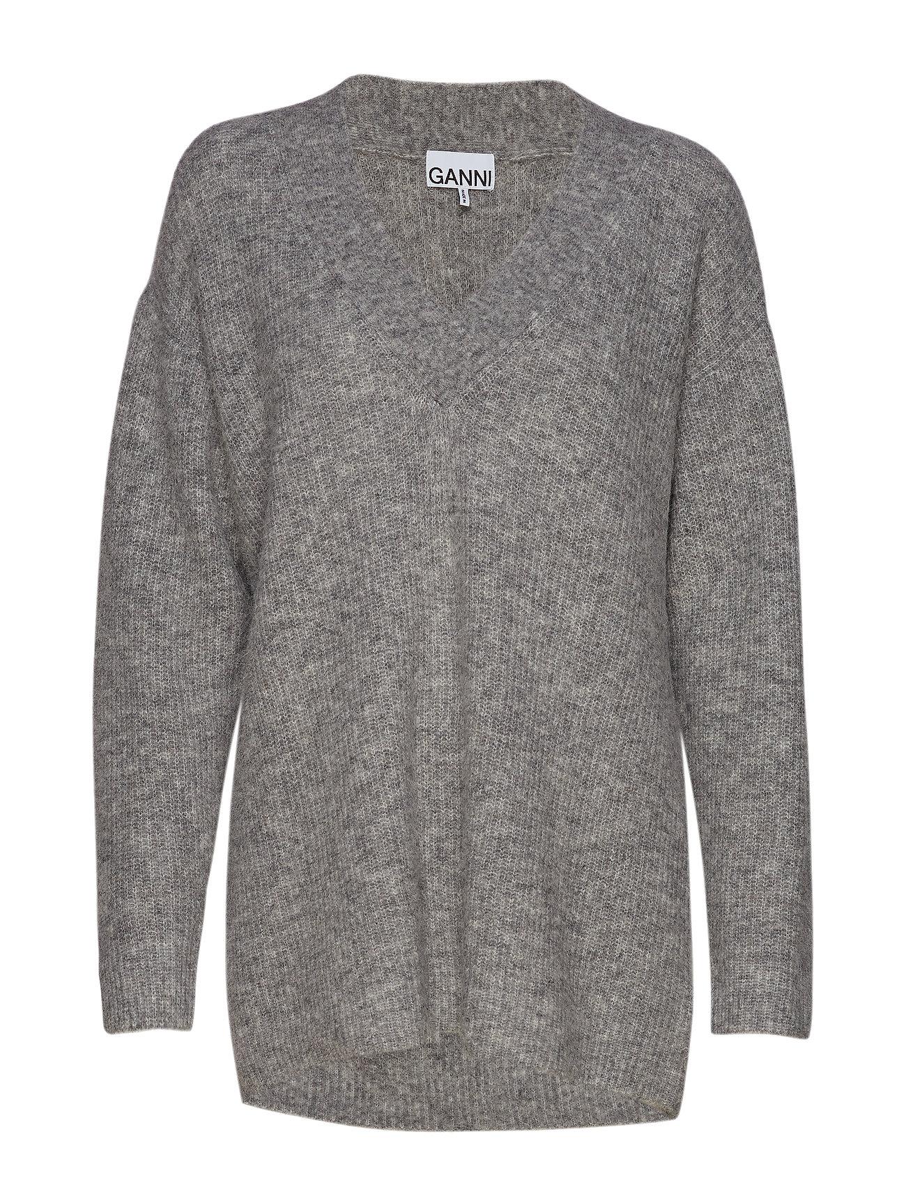 Ganni Soft Wool Knit - PALOMA MELANGE